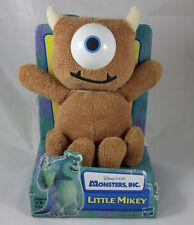 DISNEY PIXAR HASBRO Monsters Inc Little Mikey 2001 Plush Stuffed Animal Toy