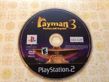 RAYMAN 3 HOODLUM HAVOC (SONY PS2 PlayStation 2) - DISC ONLY
