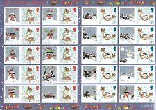 GB -QE2 - SMILERS SHEET 2005 ''CHRISTMAS ROBINS '' LS27