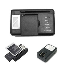 Universal Battery Charger With LCD Us Plug For Nokia BL-4C BL-5C BL-6C BL-5B