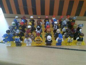 50 Lego Figuren City mit Kopfbedeckung Set 1