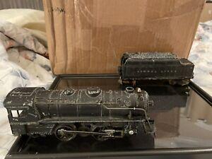 Vintage Marx Die-Cast Steam Engine And Other Train Parts