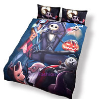 Single/Double/Queen/King Size Bed Quilt/Doona/Duvet Cover Set Horror Story