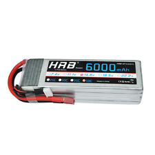 HRB 4S 6000mAh 14.8V 50C-100C RC Lipo Battery For RC Airplane Helicopter Car
