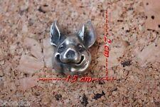 Tête de cochon avec fixation par filetage (100% étain)