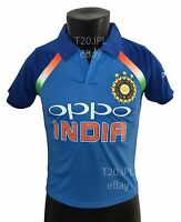 India Team Cricket Jersey 2018 Indian shirt IPL ODI T20 OPPO World Cup Champions