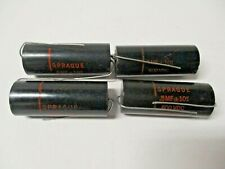 Sprague Black Beauty Capacitors .5 mf 10% 600v P/N 6TM-P5 (4)