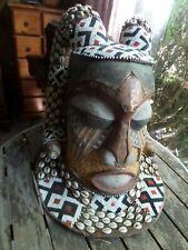 Masque africain, ethnie Bakuba du Congo