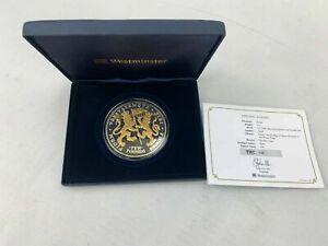 Elizabeth II 2011 Lifetime of Service £10 Silver Proof 5oz Coin Box 148/450 0090