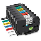 Compatible for Brother P-Touch TZe 131 TZe231 Label tape 9mm 12mm Assorted Color