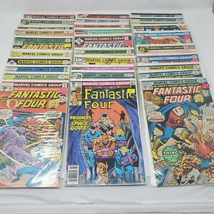 Fantastic Four ~ Huge Lot of 30 Comic Books ~ L@@K F46