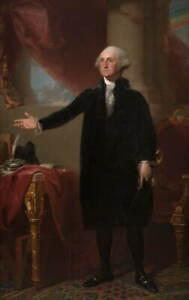 Gilbert Stuart George Washington 2 Poster Reproduction Giclee Canvas Print