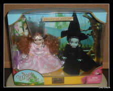 BARBIE  KELLY WIZARD OF OZ GLINDA & WICKED WITCH BARBIE COLLECTOR EDITION NRFB