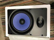 "2 OnQ Blue Line Series 8"" In-Wall Speakers"