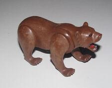 Playmobil Accessoire Décor Animal Gros Ourse Bear Préhistorique NEUF