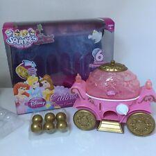 Squinkies Disney Rose Fête Princesse CARRIAGE Coach Ariel Belle boxed rare