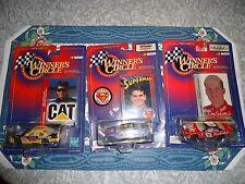 Winners Circle Dale Earnhardt, Ward Burton,Jeff Gordon cars