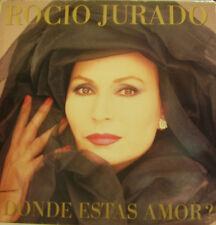 ROCIO JURADO-¿DONDE ESTAS AMOR? LP VINILO 1987 SPAIN