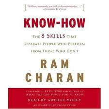 BOOK/AUDIOBOOK CD Ram Charan Business Learning 8 Skills KNOW-HOW