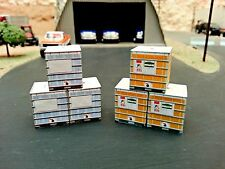 1/64 6 Pack 250 Gallon Tanks on Pallet of Roundup CUSTOM/TOY/DCP/FARM/DISPLAY