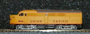 Life-Like N scale #7428 Union Pacific FA1 diesel Locomotive cab 1614