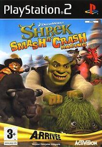 Shrek smash'n'crash racing - PLAYSTATION - PS2 - NEUF