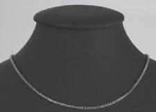 Titan Titanium Venezianer Kette Halskette Collier Vierkant Damen Herren 36-70 II