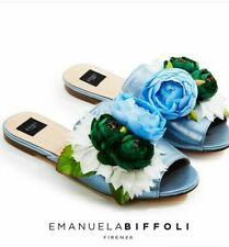 Emanuela Biffoli Scarpa bassa  Sandalo con Fiori applicati