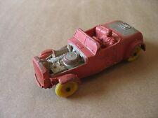 "A vintage 4"" long Auburn Rubber Co. diecast Red Hot Rod #5 Race Car"