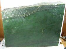 5435g Alaska USA 100% Natural Raw Rough Green Jade Block Slab Specimen 11.95 lb