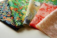 Patchwork Lot 453*** Vintage Japanese kimono Fabric ***valued pack***