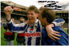 Chris Dandinons signé 6x4 photo sheffield wednesday autographe souvenirs + coa