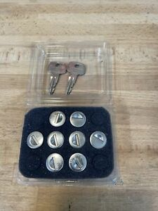 Yakima SKS Lock Cores 8-Pack with 2 Keys A141