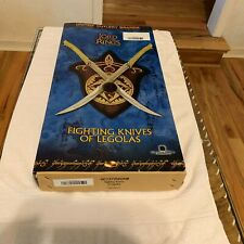 United Cutlery Brands Fighting Knives of Legolas New In Box.