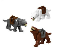 MINIFIGURES - LORD OF THE RINGS - HOBBIT - MANNARI - WEREWOLVES - COMPATIBILE