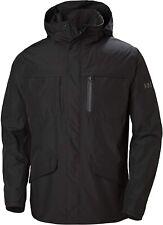 Helly Hansen mens Small Jacket  3 in 1 Mens coat zip front black   $375 mn
