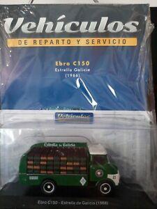 CAMION EBRO C150 ESTRELLA GALICIA ESCALA 1/43 VEHÍCULOS DE REPARTO Y SERVICIOS.