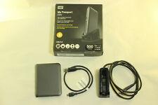 WD My Passport Essential 500GB wdbaac5000ach-00 Portable External Hard Drive