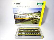 "Minitrix N 15673, 3-tlg.Wagen-Set ""Lufthansa Airport Express"", DB , neu, OVP"