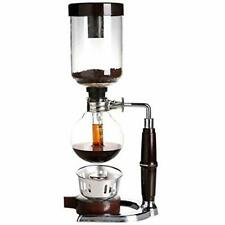 New 5 Cup Coffee Syphon Tabletop Siphon Coffee Maker Heat Resistant Glass