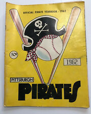 Pittsburgh Pirates Official 1962 Yearbook