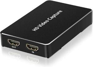 LinkStable HDMI Game Recorder Box - 1080P@H.264 HD Game Video Capture - HDMI