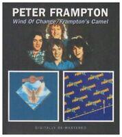 PETER FRAMPTON - WIND OF CHANGE/FRAMPTON'S CAMEL 2 CD NEW!
