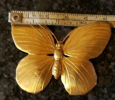 """Lot of 25 Brass Butterfly Findings 2"""" Guyot"""