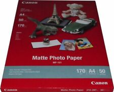 50 Blatt ORIGINAL Canon FOTOPAPIER MP-101 matt DIN A4