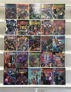 Stormwatch Image 25 Lot Comic Book Comics Set Run Collection Box