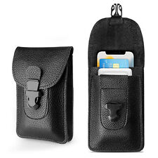 Oxford Universal Cell Phone Holder Belt Clip Loop Card Slot Pouch Bag Case Cover