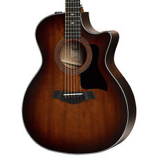 Taylor 324ce V Class Grand Auditorium Acoustic Electric Guitar w/ Case