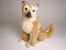 Shiba Inu Puppy by Piutre, Hand Made in Italy, Plush Stuffed Animal NWT