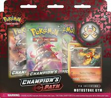 Pokemon TCG: Champion's Path Pin Collection - Turffield, Hulbury and Motostok...